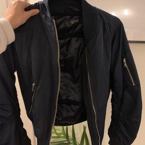 Jackets & Blazers - Navy bomber jacket